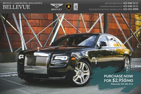 2017 Rolls-Royce Ghost Series II for sale in Bellevue, WA
