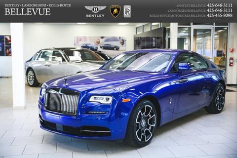 2018 Rolls-Royce Wraith for sale in Bellevue, WA