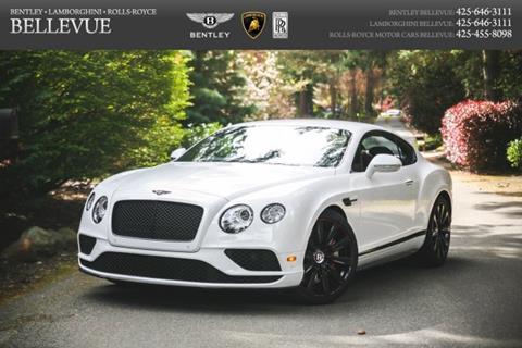 2017 Bentley Continental for sale in Bellevue, WA