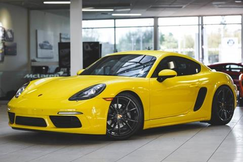 2017 Porsche 718 Cayman for sale in Bellevue, WA