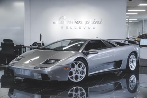2001 Lamborghini Diablo For Sale In Bellevue Wa