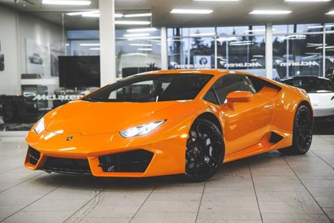 Used Lamborghini Huracan For Sale In Raleigh Nc Carsforsale Com