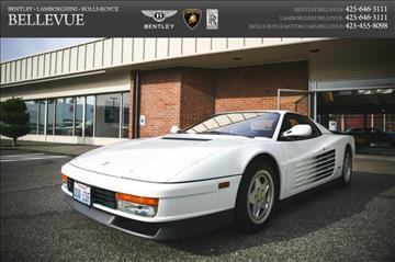 1989 Ferrari COUPE for sale in Bellevue, WA
