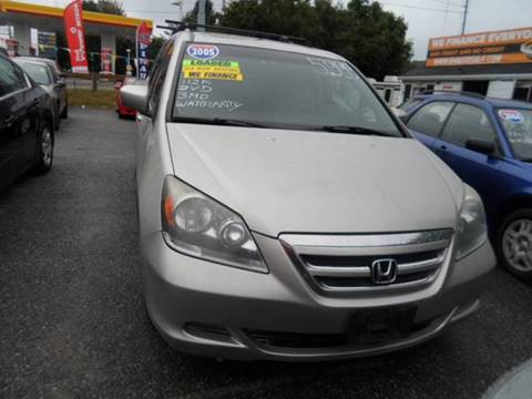 2005 Honda Odyssey for sale in Somerset, MA