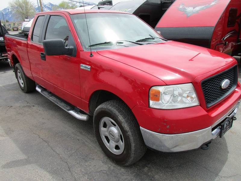 2006 ford f-150 xlt 4dr supercab 4wd styleside 6.5 ft. sb in midvale