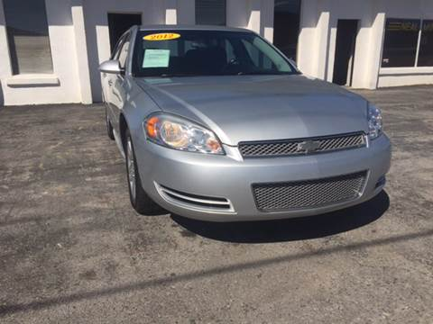 2012 Chevrolet Impala for sale in Monticello, KY