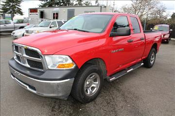 2012 RAM Ram Pickup 1500 for sale in Lynnwood, WA