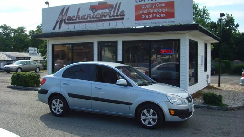 2008 Kia Rio LX 4dr Sedan (1.6L I4 4A) - Mechanicsville VA