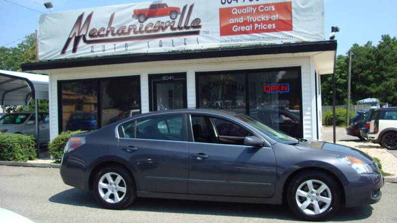 2007 Nissan Altima 2.5 S 4dr Sedan (2.5L I4 CVT) - Mechanicsville VA