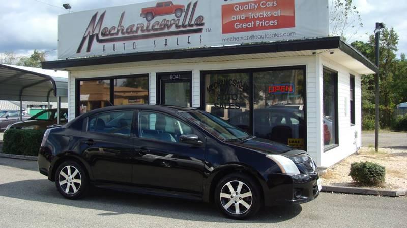 2012 Nissan Sentra 2.0 SL 4dr Sedan   Mechanicsville VA