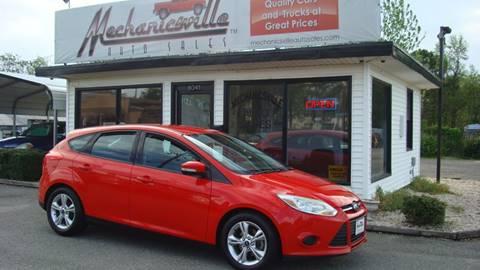 2013 Ford Focus for sale in Mechanicsville, VA