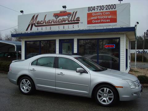 2009 Ford Fusion for sale in Mechanicsville, VA