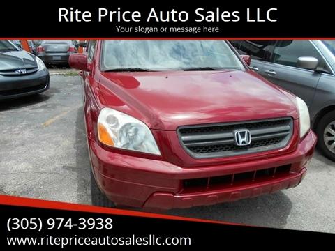 2005 Honda Pilot For Sale In Miami, FL