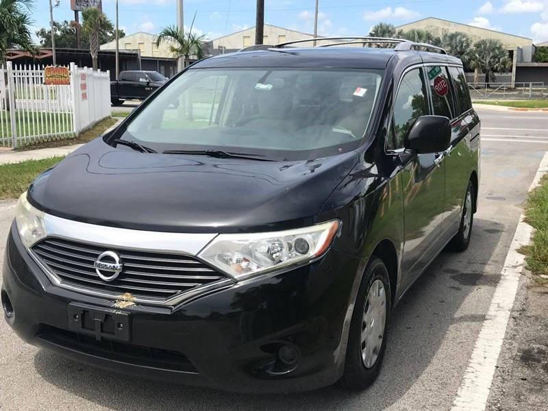 2012 Nissan Quest 35 S 4dr Mini Van In Miami Fl Rite Price Auto