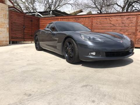 2013 Chevrolet Corvette for sale at Speedway Motors TX in Fort Worth TX