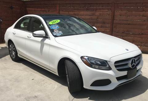 2017 Mercedes-Benz C-Class for sale at Speedway Motors TX in Fort Worth TX