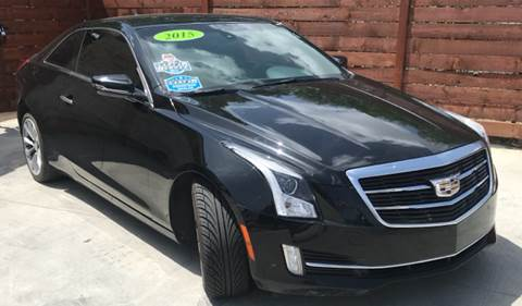 2015 Cadillac ATS for sale at Speedway Motors TX in Fort Worth TX