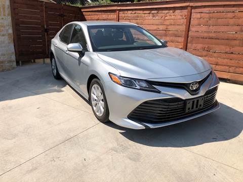 2018 Toyota Camry for sale at Speedway Motors TX in Fort Worth TX