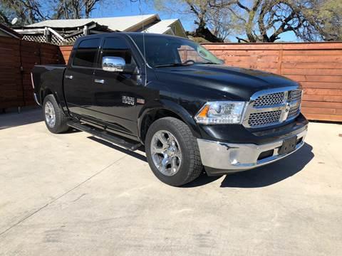 2016 RAM Ram Pickup 1500 Laramie for sale at Speedway Motors TX in Fort Worth TX