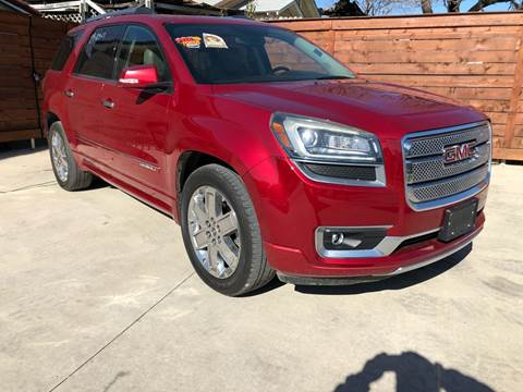 2013 GMC Acadia for sale in Fort Worth, TX