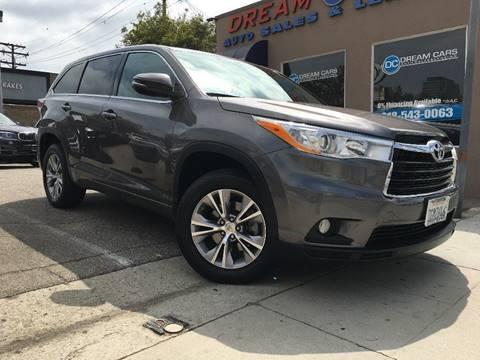 2014 Toyota Highlander for sale in Glendale, CA