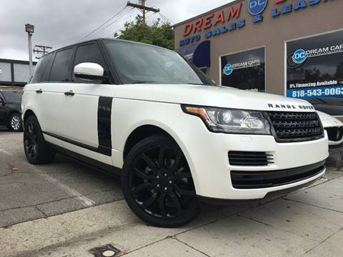 2015 Land Rover Range Rover for sale in Glendale, CA