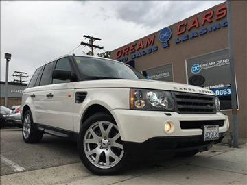 2008 Land Rover Range Rover Sport for sale in Glendale CA