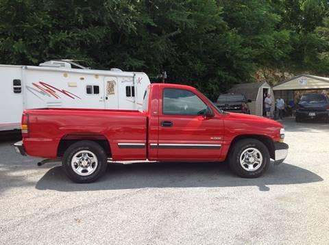 2001 Chevrolet Silverado 1500 for sale at GIB'S AUTO SALES in Tahlequah OK