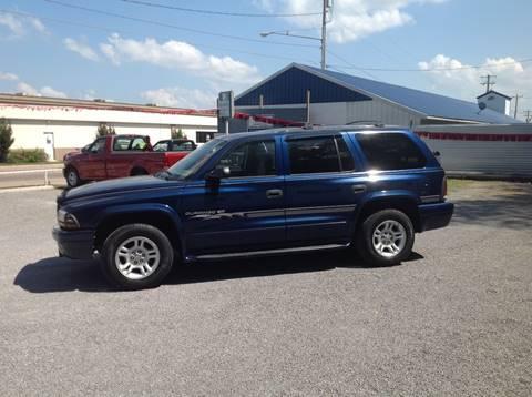 2001 Dodge Durango for sale at GIB'S AUTO SALES in Tahlequah OK