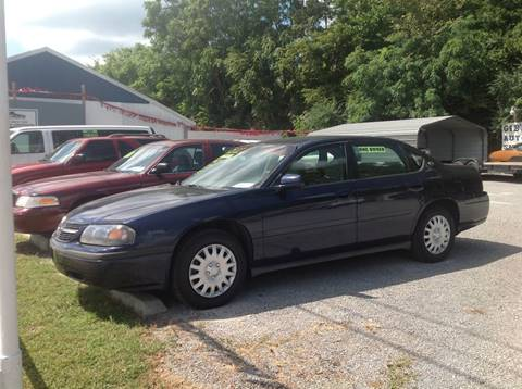 2001 Chevrolet Impala for sale at GIB'S AUTO SALES in Tahlequah OK