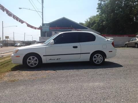 2005 Hyundai Accent for sale at GIB'S AUTO SALES in Tahlequah OK