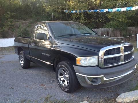 2002 Dodge Ram Pickup 1500 for sale at GIB'S AUTO SALES in Tahlequah OK