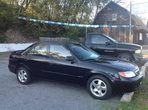 2002 Mazda Protege for sale at GIB'S AUTO SALES in Tahlequah OK