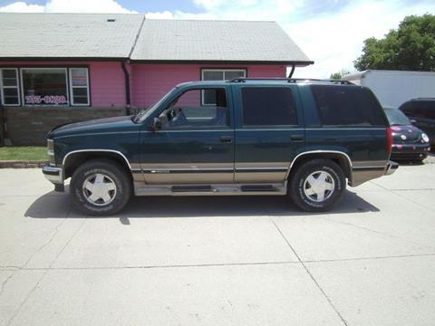 1997 Chevrolet Tahoe for sale in Fremont, NE