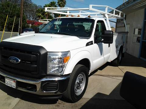 2012 Ford F-350 Super Duty Utility Truck for sale at S & S Auto Sales in La  Habra CA