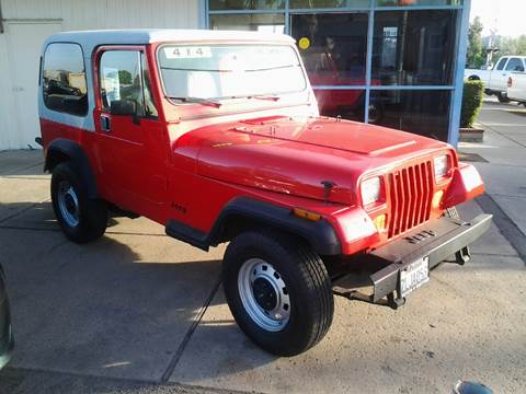 1989 Jeep Wrangler For Sale  Carsforsalecom