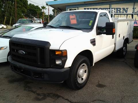 2008 Ford F-250  Service Body for sale at S & S Auto Sales in La  Habra CA