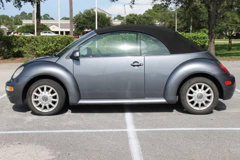 2005 Volkswagen New Beetle for sale in Jacksonville, FL