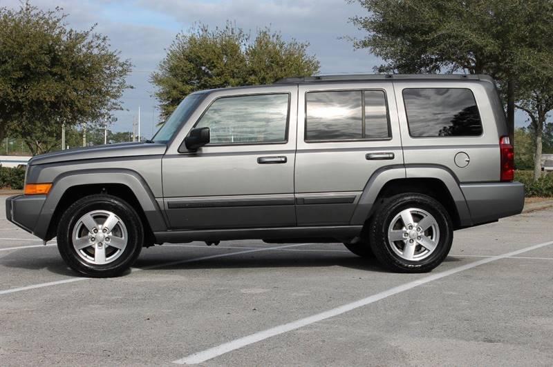 2007 Jeep Commander Sport 4dr SUV   Jacksonville FL