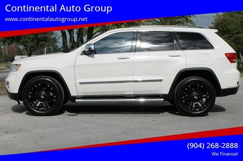 2012 Jeep Grand Cherokee for sale in Jacksonville, FL
