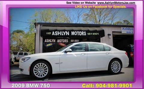 BMW Series For Sale Carsforsalecom - Bmw 2009 7 series for sale