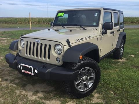 2017 Jeep Wrangler Unlimited for sale in Penn Yan, NY