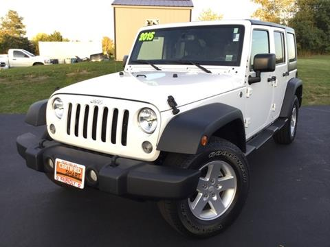 2015 Jeep Wrangler Unlimited for sale in Penn Yan, NY