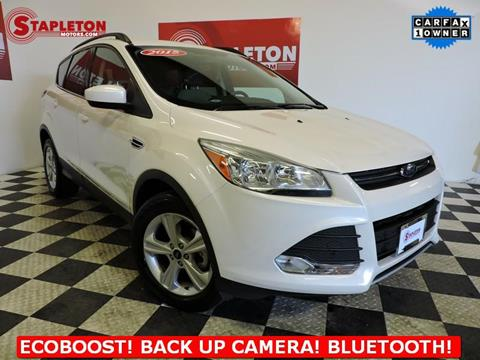 2015 Ford Escape for sale in Commerce City, CO