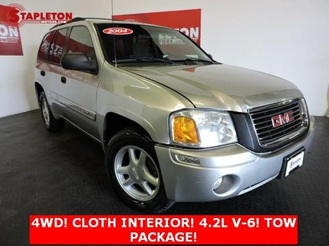 2004 GMC Envoy for sale at STAPLETON MOTORS in Commerce City CO