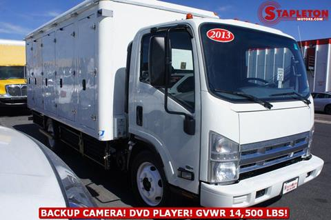 2013 Isuzu NPR HD for sale at STAPLETON MOTORS in Commerce City CO