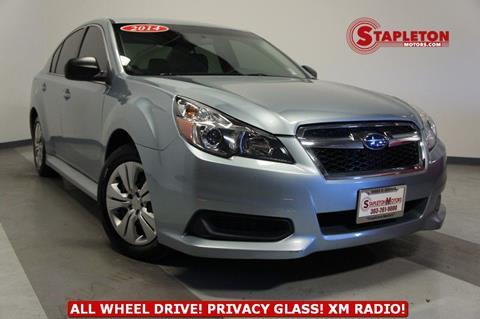 Used Subaru Denver >> 2014 Subaru Legacy For Sale In Commerce City Co
