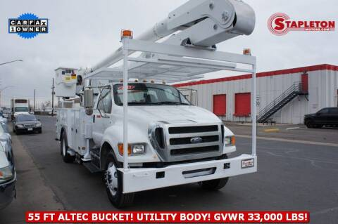 2011 Ford F-750 Super Duty for sale at STAPLETON MOTORS in Commerce City CO
