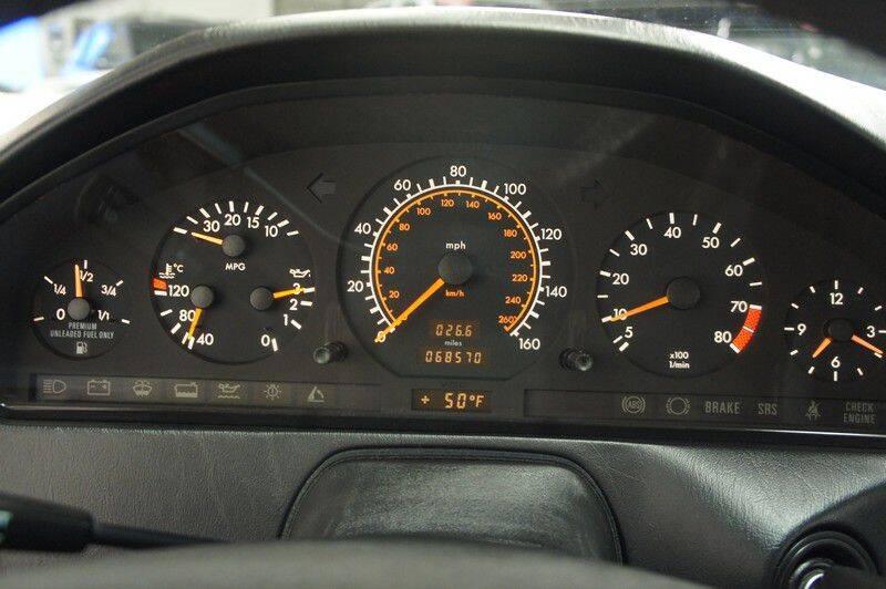 1991 Mercedes-Benz 300-Class 300 SL (image 16)
