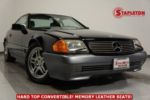 1991 Mercedes-Benz 300-Class 300 SL for sale at STAPLETON MOTORS in Commerce City CO